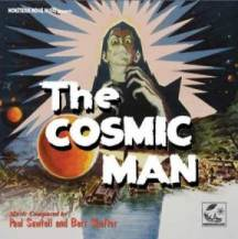 The Cosmic Man CD cover (three inches)