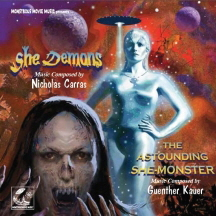SHE DEMONS & ASTOUNDING SHE-MONSTER CD